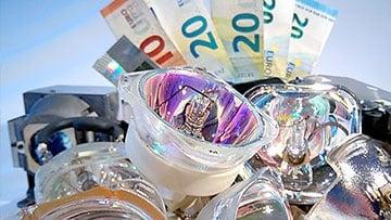 Bild Beamer Reparatur Zentrum beamer lampen geld sparen