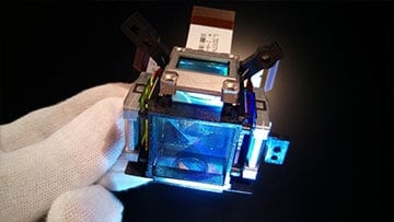 Bild Beamer Reparatur Zentrum Sensoreinheit