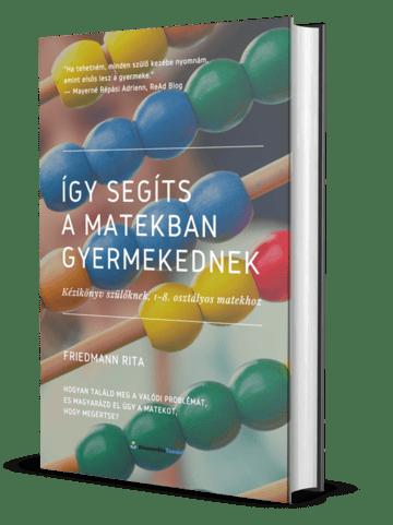 Matektanulást segítő könyv szülőknek