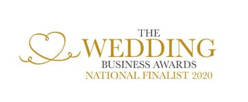 National Finalist for the Wedding DJ category in the Wedding Business Awards 2020