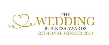 Regional Winner for the Wedding DJ category in the Wedding Business Awards 2020