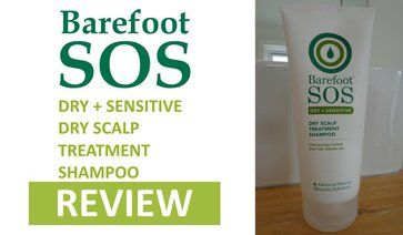 barefoot sos dry scalp dandruff treatment shampoo review