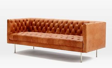 Кожаный диван Soft