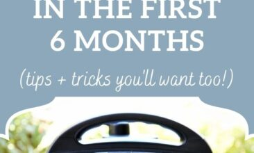 """Pinterest pin, image is of an Instant Pot. Text overlay says, """"4 Things I Learned About My Instant Pot - you'll want to know them, too!"""""""