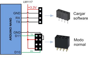 ESP8266-01 Arduino, conectores necesarios