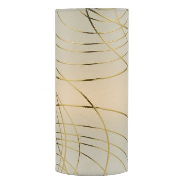Där IRI4112 Irina Table Lamp Ivory & Gold