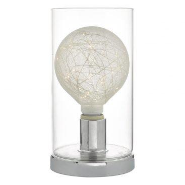 Där VAT4150 Vatiki Table Lamp Polished Chrome