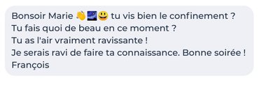 conversation meetic