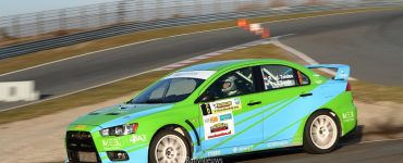Roel van der Zanden & Ilse van de Sande - Mitsubishi Lancer Evo X - Circuit Short Rally 2019