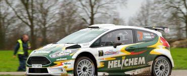 Henk Vossen en Lieke Bouman - Ford Fiesta R5 - Zuiderzeerally 2019