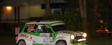 Mike van den Brink en Mathijs Dik - MINI Cooper - Zuiderzeerally 2019