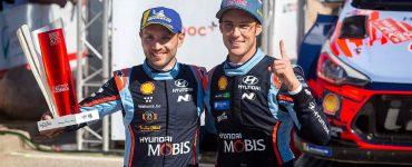 Thierry Neuville & Nicolas Gilsoul - Hyundai i20 WRC - Rally Corsica 2019