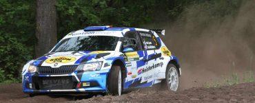 Erik van Loon & Harmen Scholtalbers - Skoda Fabia R5 - ELE Rally 2019