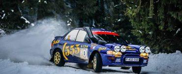 Charles Munster & Jasper Maelfait - Subaru Impreza 555 - Romania Historic Winter Rally 2020