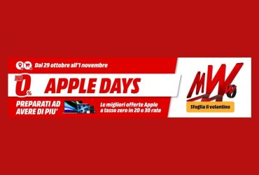 mediaworld apple days 2020