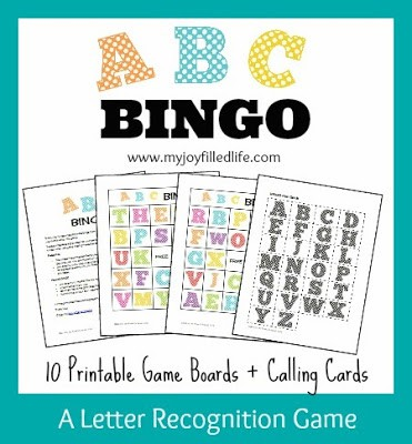 Alphabet Printables for ABC Learning the Alphabet Games, projects and more.