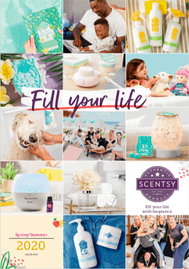 2020 UK & IRELAND SCENTSY CATALOGUE SPRING SUMMER