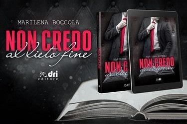 Cover reveal | Non credo al lieto fine di Marilena Boccola