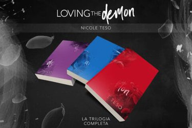 Cover reveal | Trilogia Loving The Demon di Nicole Teso