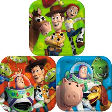 Toy Story Party Ideas with Free Printables- Toy Story Party Pack Plates