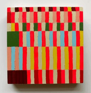"""A Color Story About Joy"" - Abstrakte Farbfeldmalerei von Jessica Poundstone"