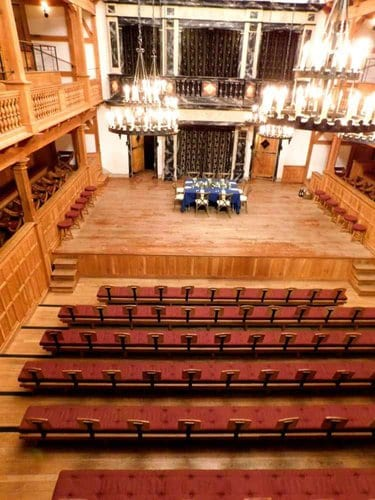 The american shakespeare company's blackfriar's theater