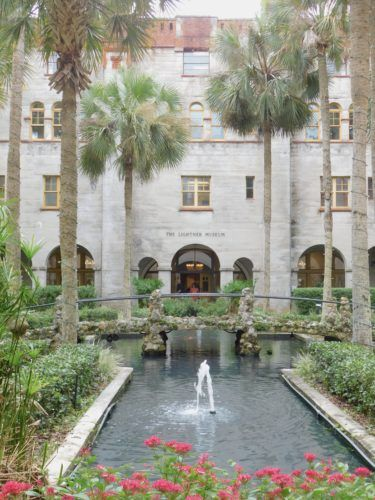 The lightner museum is housed in a former gilded age hotel called the alcazar.