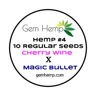 Hemp #4 CBD SEEDS Hemp Seeds