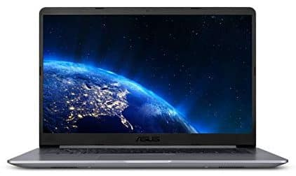 The front view of the Laptop ASUS VivoBook F510UA