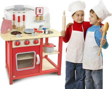 cocina de juguete de madera Leomark
