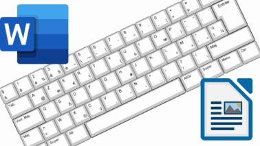 25 raccourcis clavier réellement efficaces dans Word et Writer