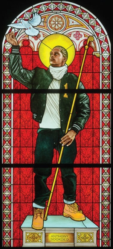 Kehinde Wiley - Saint Remi - 2014