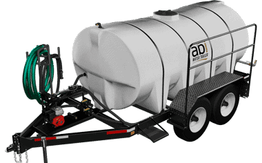 1,600 Gal. D.O.T. Water Trailer