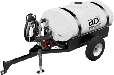 300 Gal. Compact Water Trailer