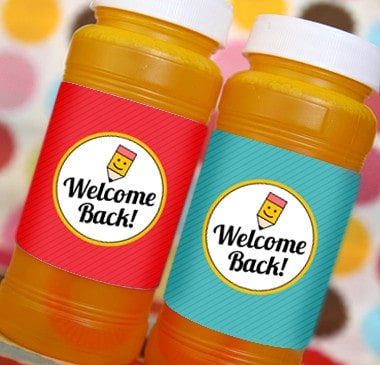 Back to School Free Printable Bubble Labels for Teachers. LivingLocurto.com