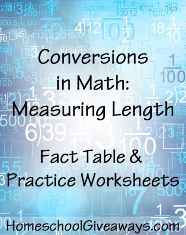 Conversions in Math Measuring Length