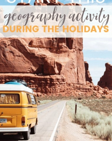 Should you really start a geography activity during the holidays? Yes! If you plan on traveling or getting together with out-of-state family and friends this holiday season, then consider sending a GeoBear on an adventure and you'll set your child up for an unforgettable world geography adventure.