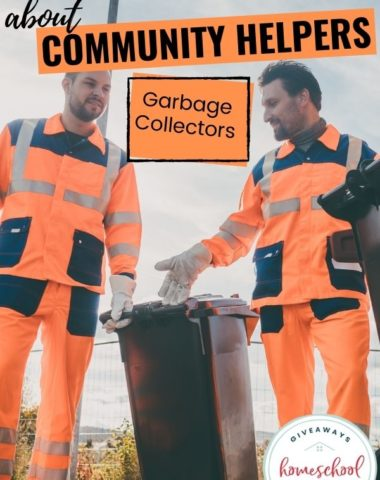 Free Ways to Learn About Garbage Collectors. #garbagecollectorresources #communityhelpersgarbagecollectors #garbagecollection #communityhelpers
