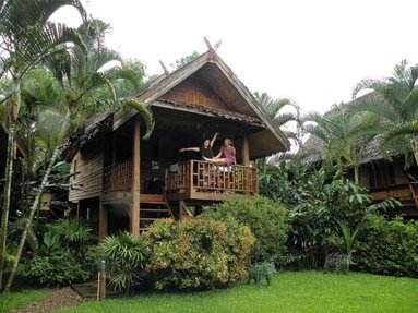 The bungalow Ashely Lipasek stayed in, Thailand, June, 2017.