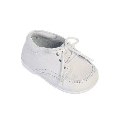 Baby Boys Matte White Dress Shoe