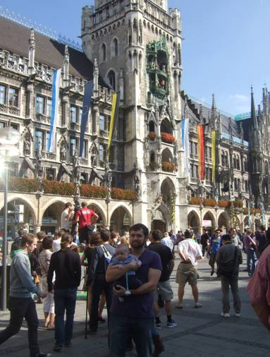 germany with baby, germany, munich mit baby, munich with baby, europe with baby