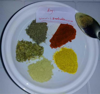 the Moroccan Spices