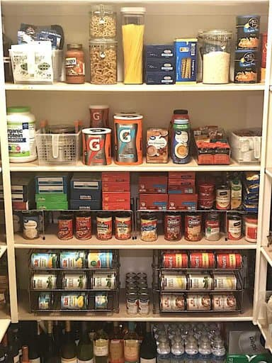 Organize a Walk-In Pantry: Organizing Products