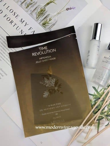 time revolution sheet mask