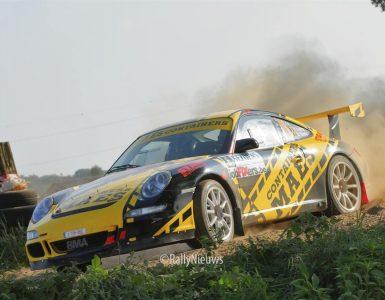 Patrick Snijers & Davy Thierie - Porsche 997 - Sezoensrally 2018
