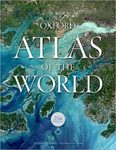 Oxford Atlas of the World (New York: 25th ed., November 2018), pp. 448 ISBN: 9780190913038 $89.95