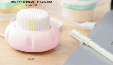 Blush Pink Scentsy MIni Fan Diffuser
