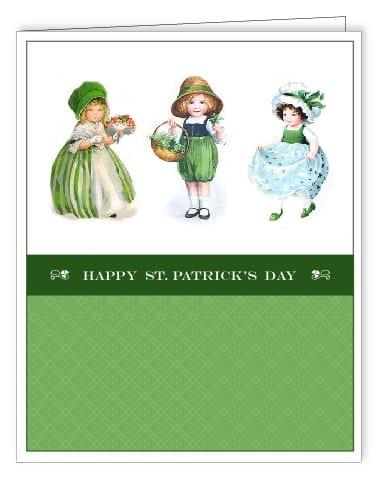 St. Patrick's Day Free Printable Cards via LivingLocurto.com