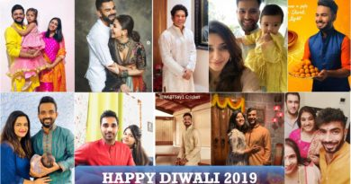 Indian cricketers Diwali wishes