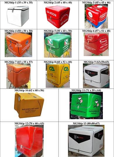 xưởng sản xuất thùng chở hàng